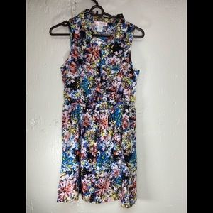 Band Of Gypsies Multi Color Dress Womens M NWT